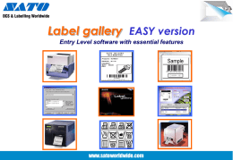 Label Gallery Easy