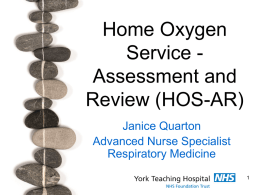 Home Oxygen Service (MS Word)