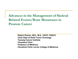 Advances in the management of skeletal related events