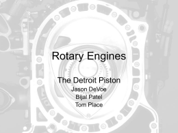PPT 5 Rotary Engines
