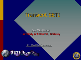 PPT - Astronomy - University of California, Berkeley
