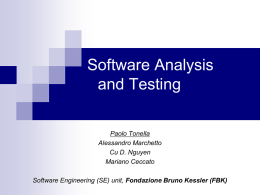 Software Testing (introduction)