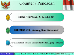 Counter (Pertemuan 10-11)