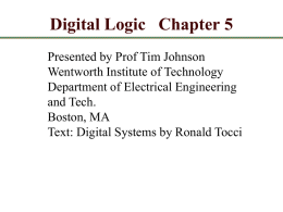 Chapter 5 - MyWeb at WIT - Wentworth Institute of Technology