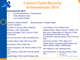 Cyber Security Council