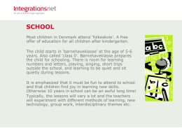 school - Integrationsnet