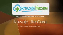 View Here - Khwaja Life Care