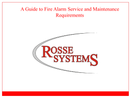 A Complete Guide to Service and Maintenance Requirements