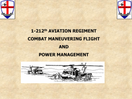 Combat Maneuvering Flight