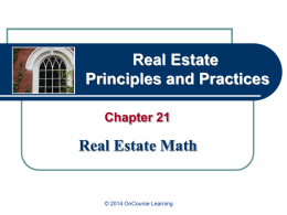 Real Estate Principles & Practices, 9e - PowerPoint