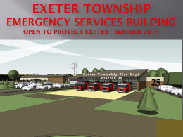 Exeter Township Emergency Services Building