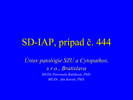 SDIAP_444_Busikova - Cytopathos, spol. s ro