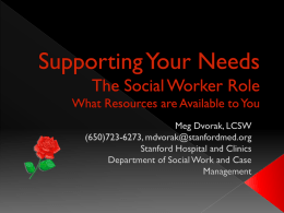 Supporting Your Needs-Meg Dvorak, LCSW