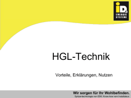 Präsentation HGL-Technik