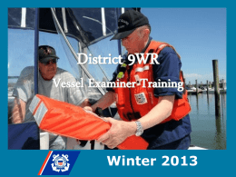 required - Coast Guard Auxiliary 9th Western Region