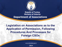 foreign CSOs