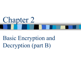 Chapter 1 Security Problems in Computing