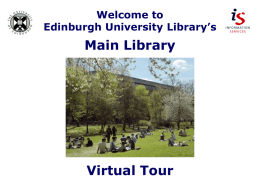 Main Library – Virtual Tour