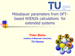 1. Mössbauer parameters from DFT-based - Extra Materials