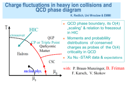 Charge fluctuations in heavy ion collisions and QCD phase diagram