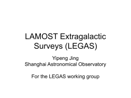 LAMOST Extragalactic Surveys (LEGAS)