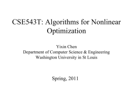Lecture 1 - Department of Computer Science & Engineering