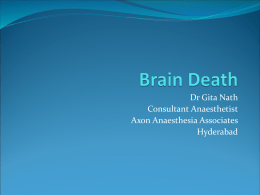 Brain Death - MOHAN Foundation