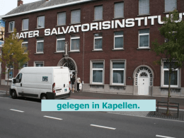 Mater Salvatorisinstituut - Kapellen