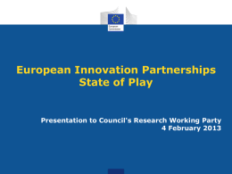 EIP state of play European Commission