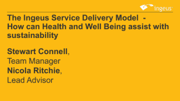 The Ingeus Service Delivery Model