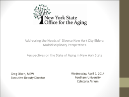 Diverse-City-Elders - State Society on Aging of New York