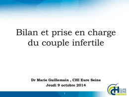 bilan du couple infertile masque evreux