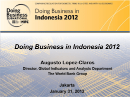 Slide 1 - Doing Business