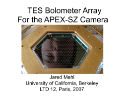 TES Bolometer Array