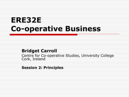 ERE32E Co-operative Business Bridget Carroll
