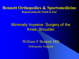Knee-Knee Replacement Slide Show