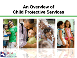 Child Protective Services Family-Centered Practice