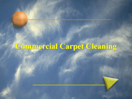 Commercial Carpet Cleaning HWE 4354KB Dec 03