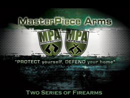 Masterpiece Arms - Laura Burgess Marketing
