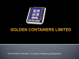 GCL_Brochure - Golden Containers Limited