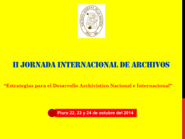 File - Archivo General de la Nación