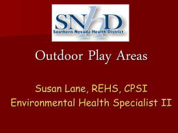 Child Care - Southern Nevada Health District