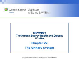 Memmler`s The Human Body in Health and Disease