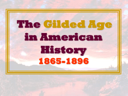 The Guilded Age PPT