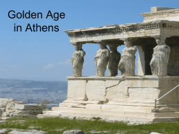Golden Age of Athens PowerPoint