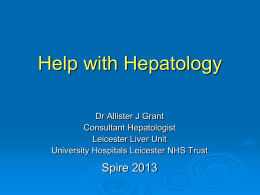 Help with Hepatology (Oct 2013)