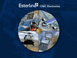 CMC Electronics Overview