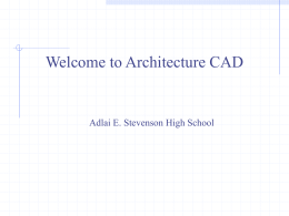 Intro to Architecture Presentation