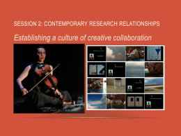 Contemporary Research Relationships