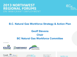 BC Natural Gas Workforce Strategy Committee